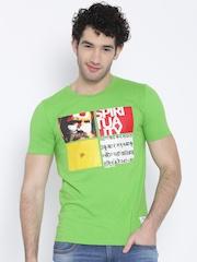 Duke Green Printed T-shirt