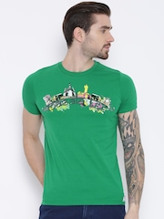 Duke Green Graphic Print T-shirt