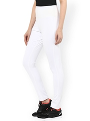 SS White Slim Fit Tights
