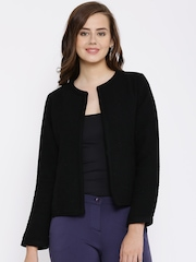 Van Heusen Woman Black Woollen Jacket