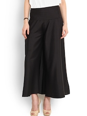 Trend Arrest Black Palazzo Trousers