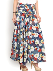 Trend Arrest Multicoloured Floral Print Palazzo Trousers