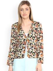 Athena Multicoloured Floral Print Shrug