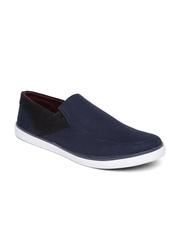 Kook N Keech Men Navy Canvas Shoes