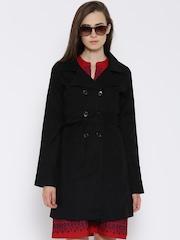 Tokyo Talkies Black Trench Coat