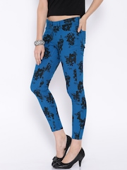 Ginger by Lifestyle Blue Printed Jeans
