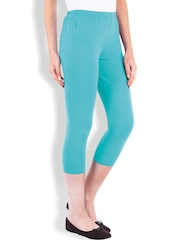 Beyouty Turquoise Blue 3/4th Leggings