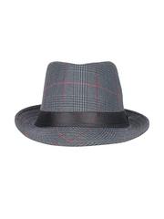 Crosscreek Unisex Grey Fedora Hat