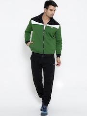 Pure Play Green & Black Brace Tracksuit