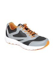 Reebok Men Black & Grey Turbo Running Shoes