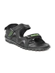 Reebok Men Black Reeflex Sports Sandals