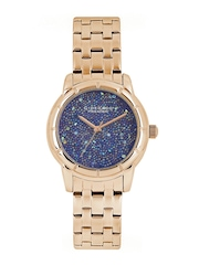 GIORDANO Premier Women Blue Dial Watch P2033-44