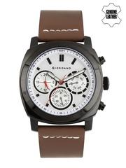 GIORDANO Men Silver-Toned Dial Watch 1751-01