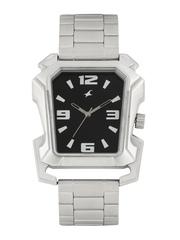 Fastrack Men Black Dial Watch 3131SM02