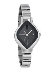 Fastrack Women Black Dial Watch 6109SM02