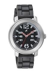 Fastrack Men Black Dial Watch 3121SP01
