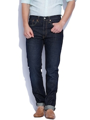 Levis Blue 501 Tapered Jeans