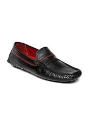Bata Men Black James Driving Shoes