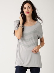 All About You from Deepika Padukone Grey Embellished Top