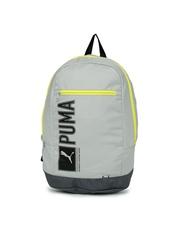 PUMA Unisex Grey Pioneer Backpack