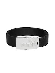 PUMA Unisex Black Webbing Belt