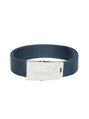 PUMA Unisex Teal Blue Webbing Belt