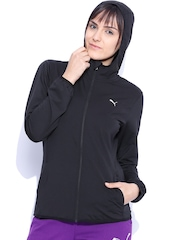 Puma Black Hooded Jacket
