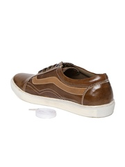 Style Centrum Men Brown Leather Casual Shoes