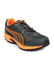 PUMA Men Charcoal Grey Strike Fashion II DP Running Shoes