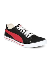 PUMA Unisex Black HipHop5Ind Sneakers