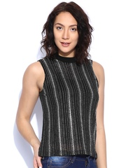 ONLY Black Striped Top