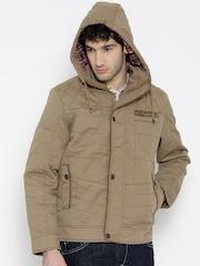 Fort Collins Khaki Jacket with Detachable Hood