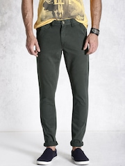 Roadster Grey Chino Trousers