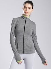 HRX by Hrithik Roshan Grey Melange Active Jacket