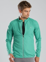 HRX by Hrithik Roshan Green Lightweight All Day Long Jacket