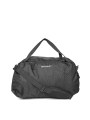 Wildcraft Unisex Black Transit Duffel Bag