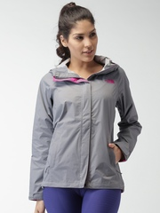 The North Face Grey Venture AP Waterproof Hooded Jacket