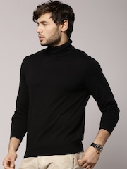 Marks & Spencer Black Polo Neck Jumper