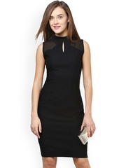 Miss Chase Black Sheath Dress