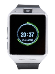 NOISE Unisex Black Bolt Bluetooth Smart Watch