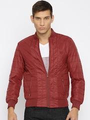Van Heusen Sport Maroon Slim Fit Jacket