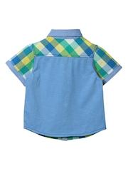 Beebay Boys Multicoloured Checked Shirt