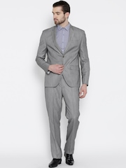 Blackberrys Grey Single-Breasted Formal Suit