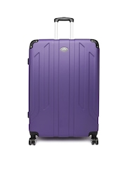 Pronto Unisex Purple Protec Spinner 78 Large Trolley Suitcase