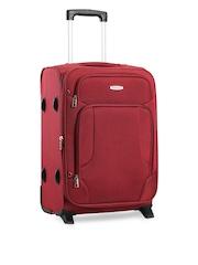 Aristocrat Unisex Red Trolley Suitcase
