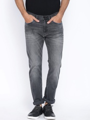 Lee Charcoal Grey Macky Regular Fit Jeans