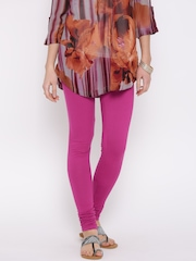 Aurelia Magenta Churidar Leggings