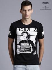 Kook N Keech Music Black Eminem Printed T-shirt