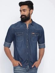 U.S. Polo Assn. Blue Denim Casual Shirt
