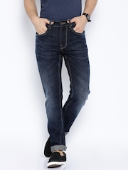 U.S. Polo Assn. Navy Slim Tapered Fit Jeans